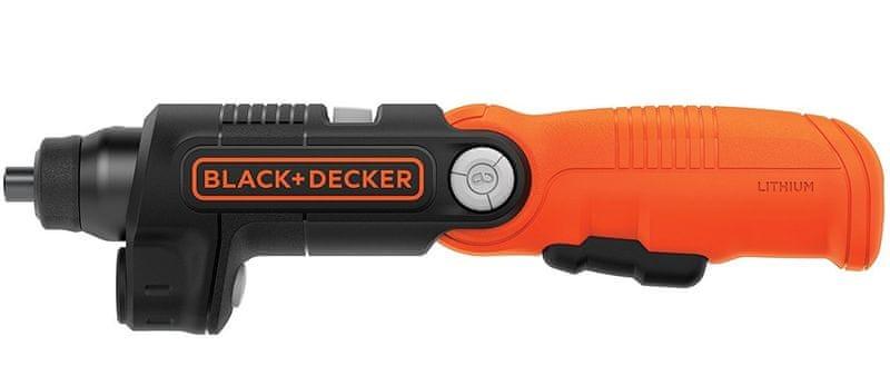 Black+Decker Aku šroubovák 3.6V/1.5Ah Li-Ion zalamovací
