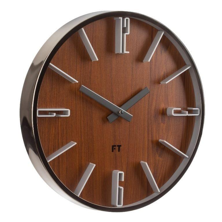 Future Time Designové nástěnné hodiny FT6010TT Numbers 30 cm