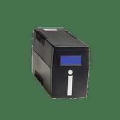 Samurai Power UPS brezprekinitveno napajanje SMART 600 LCD IEC, Line-Interactive 600VA/360W IEC