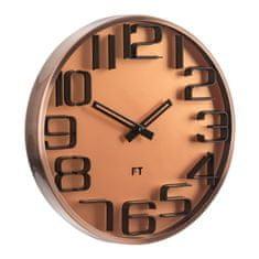 Future Time Designové nástěnné hodiny Numbers 30 cm