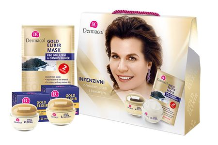 Dermacol Dárková sada pro ženy Gold Elixir