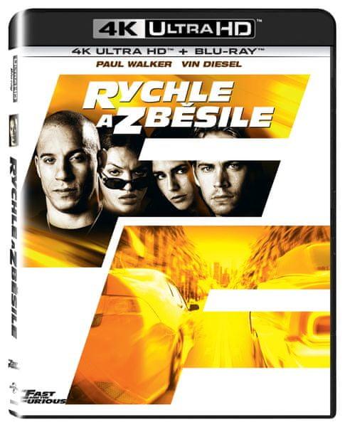 Rychle a zběsile (2 disky) - Blu-ray + 4K ULTRA HD