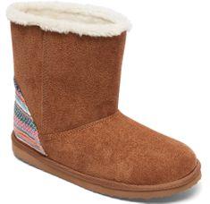 Roxy dekliški čevlji Rg Molly G Boot Tb2 Tan/Brown, rjavi