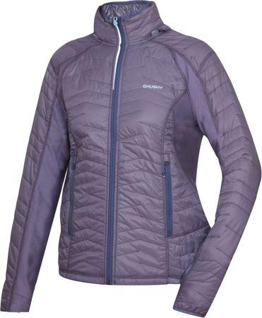 Husky ženska jakna Nimes L, sivo vijolična, S