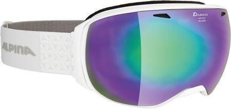 Alpina smučarska očala Big Horn MM Black white, bela