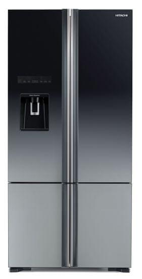 Hitachi americká lednička R-WB730PRU6X (XGR) + 7 let záruka