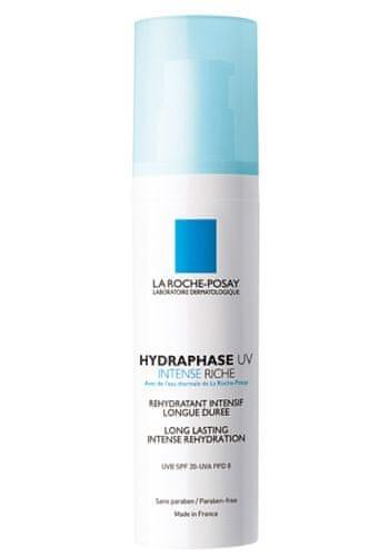 La Roche - Posay Intenzivní výživný hydratační krém SPF 20 Hydraphase UV Intense Riche (Long Lasting Intense Rehydrat