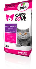 Dogs&Cats love Cats love Castrated 1,5kg