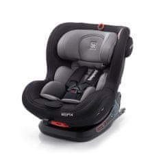 More avto sedež BIRO FIX I-SIZE 012, 0 - 25 kg, 360°, Grey/Black, sivo črn