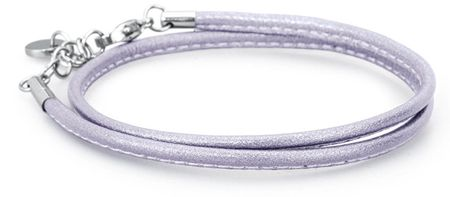Brosway Światła purpurowy pasek ze skóry bracciale BBR32