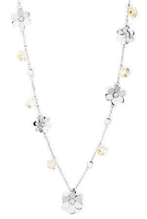 Brosway Ocelový náhrdelník s kytičkami Jardin BJR01
