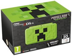 Nintendo New 2DS XL + Minecraft - Creeper Edition (NI3H97290)