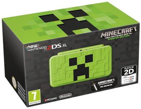 Nintendo New 2DS XL + Minecraft - Creeper Edition (NI3H97290)