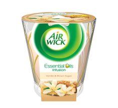 Air wick Essential Oils Infusion DECO sviečka - Vanilkové pečivo 150g
