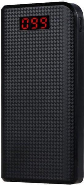 REMAX PowerBank 30000 mAh, černá barva AA-1041