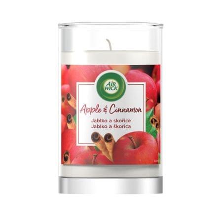 Air wick dišeča sveča XXL, jabolko in cimet, 320 g