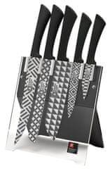 Richardson Sheffield Blok na nože Mono Geo + 5 nožů