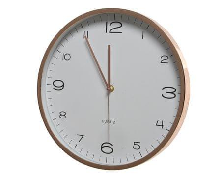 Kaemingk Nástenné hodiny, 30,5x4,6cm, plastové, zlaté