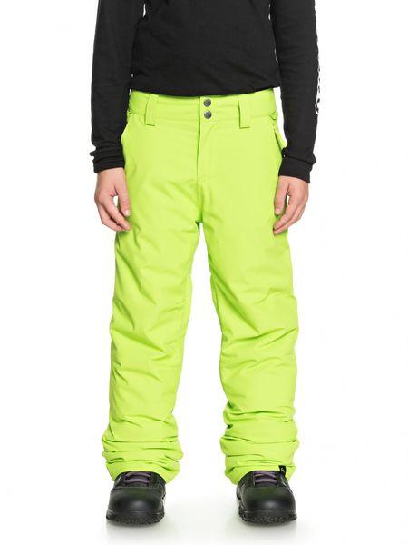 Quiksilver chlapecké kalhoty Estate Pt B 158/164 zelená