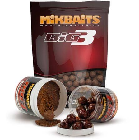 Mikbaits Boilie Legends BigB Broskyňa Black Pepper 10 kg, 24 mm