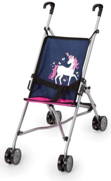 MaDe Golfový kočárek pro panenky, Unicorn