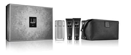 Dunhill Icon - EDP 100 ml + sprchový gel 90 ml + balzám po holení 90 ml + kosmetická taška