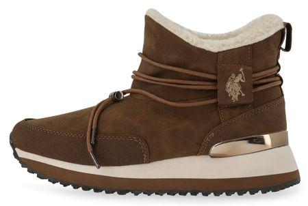 U.S. POLO ASSN. buty za kostkę damskie Frida 36 brązowy