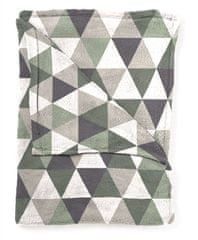Mistral Home Báránykás pléd Flannel yarn Piramis szürke 130x170 cm