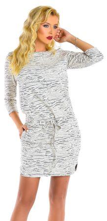 Natalee ženska obleka, S, bež