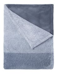 Mistral Home Koc flanelowy kolor dżinsowy 150x200 cm