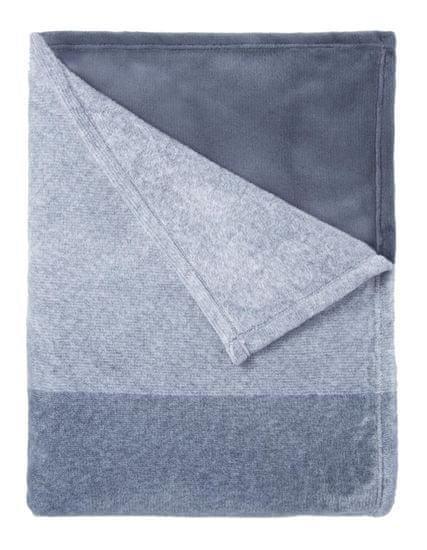 Mistral Home flanel deka Denim, 150 x 200 cm