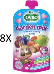 OVKO 8x Zahradní směs PO - 120g