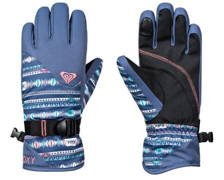 Roxy dívčí rukavice Jett G Glove S modrá