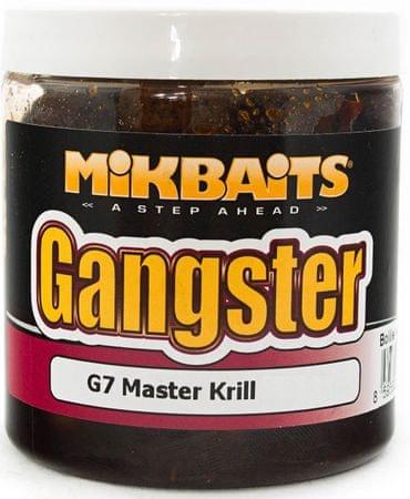 Mikbaits Boilies v dipe Gangster 250 ml g7 master krill, 24 mm