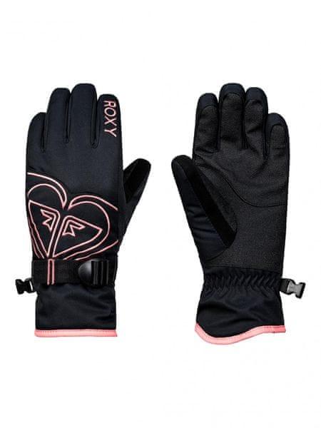 Roxy dívčí rukavice Poppy Girl G L černá 97824d5585