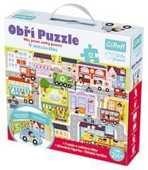 Trefl Puzzle obří V městečku 12ks