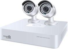 iGET HOMEGUARD HGDVK47702, 4-kanálový FHD DVR + 2x HGPLM828 kamera FHD1080p, IP66 (HGDVK47702)