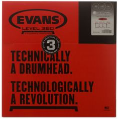 Evans EC2 Clear Fusion set Sada blan na tomy