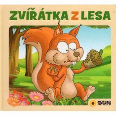 Křišťanová Dita: Zvířátka z lesa - leporelo