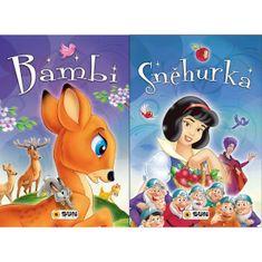 Bambi, Sněhurka - Dvě klasické pohádky