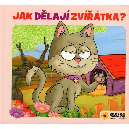 Křišťanová Dita: Jak dělají zvířátka? - leporelo
