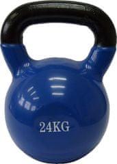 Fitmotiv utež Kettlebell, neopren, 24kg