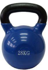 Fitmotiv utež kettlebell, neopren, 28kg