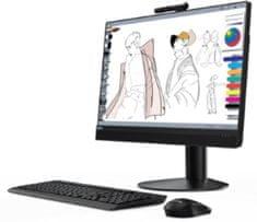 Lenovo AiO računalnik ThinkCentre M920z i5-8500/8GB/SSD256GB/23,8FHD/W10P (10S6001WZY)