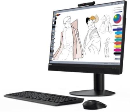 Lenovo AiO računalnik ThinkCentre M920z i7-8700/8GB/SSD256GB/23,8FHD/W10P (10S6001DZY)
