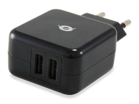 Conceptronic USB polnilec za tablice 2A