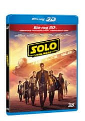 Solo: Star Wars Story (3BD: 3D+2D verze + bonus disk)   - Blu-ray