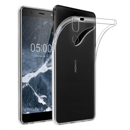 ovitek za Nokia 5.1 2018, silikonski, prozoren