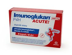 Imunoglukan ACUTE 300 mg 5 kapslí