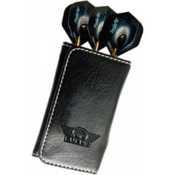 Bull's Pouzdro na šipky Leather Caddy - Soft edition - black
